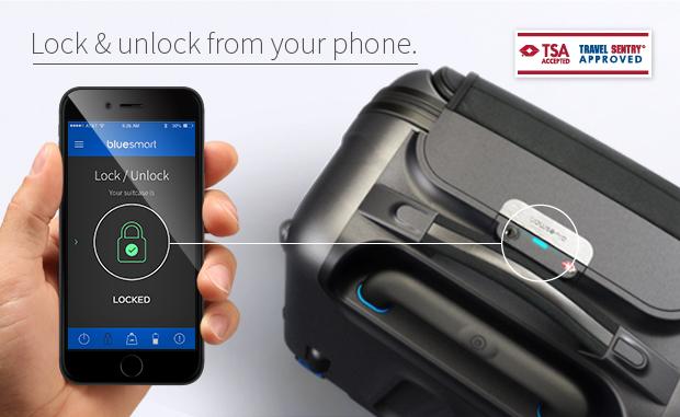 la valigia BlueSmart con GPS