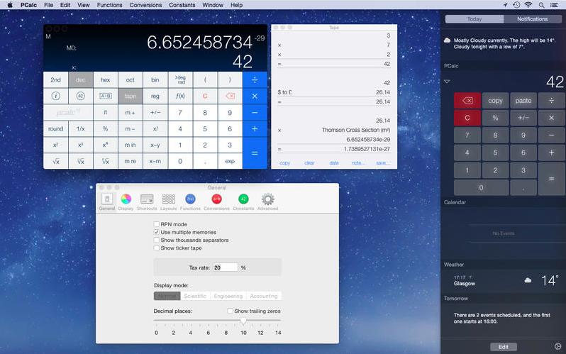 app Mac supportate da OS X Yosemite