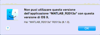 problema matlab R2013a con yosemite