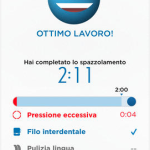 spazzolino compatibile con iPhone