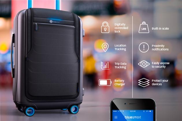valigia BlueSmart con GPS