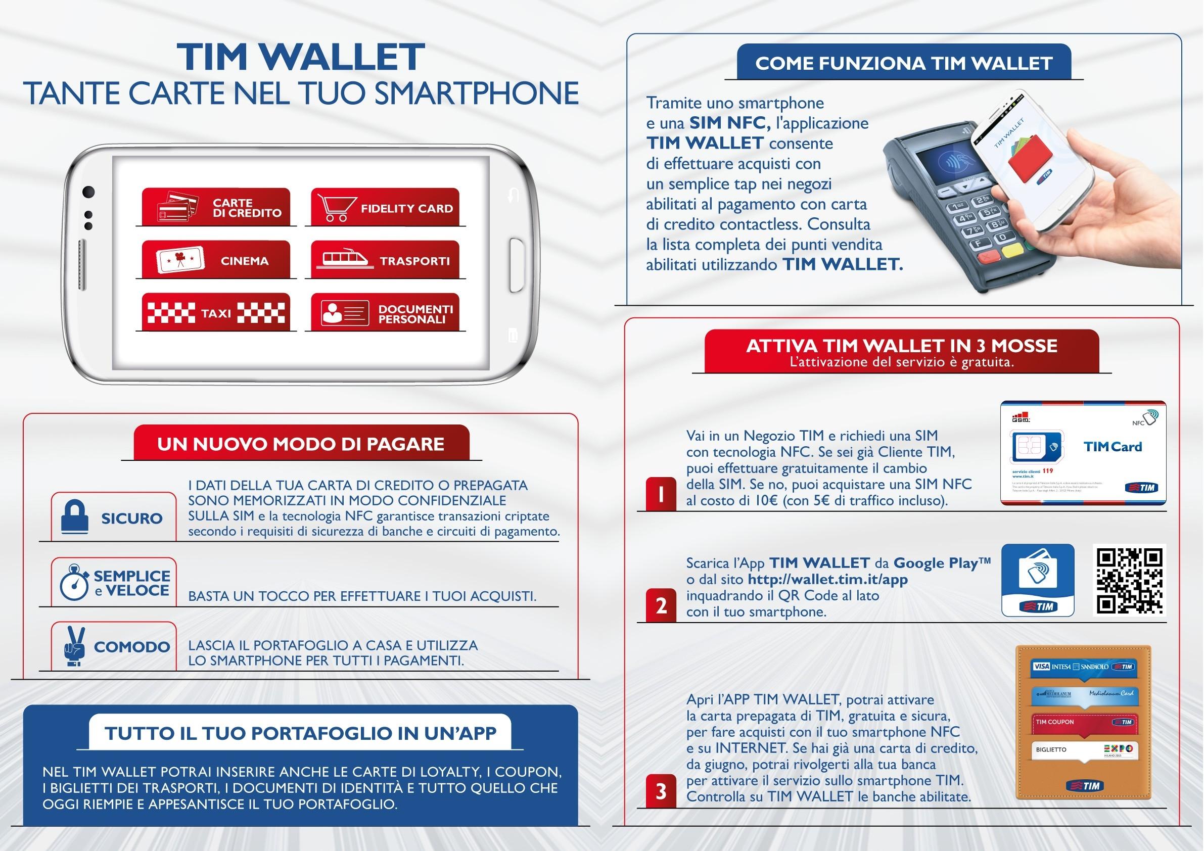 TIM SmartPAY: pagare tramite smartphone