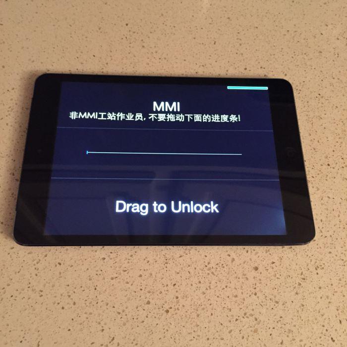 prototipo iPad mini 2 in vendita su eBay