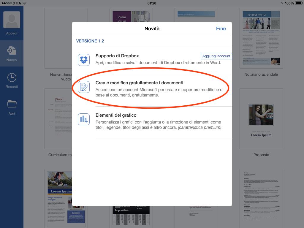 app per scrivere su iPad