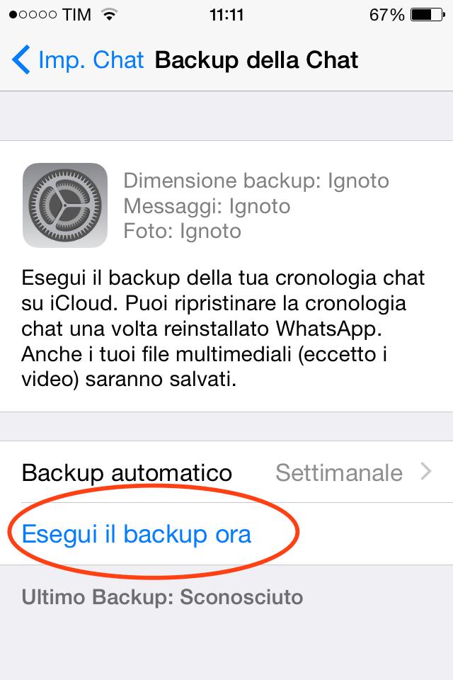 backup WhatsApp