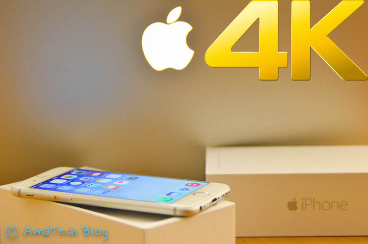 Riprodurre video 4K su iPhone 6