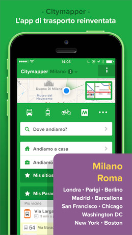 app per trovare mezzi pubblici