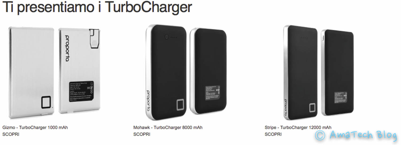 nuove batterie d'emergenza Proporta