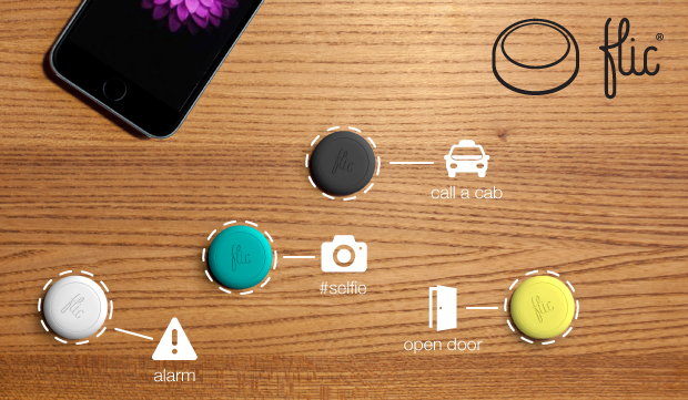 pulsante senza fili per iPhone