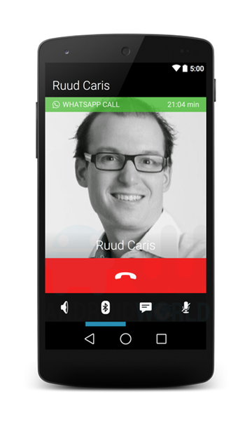 Come saranno le telefonate su WhatsApp