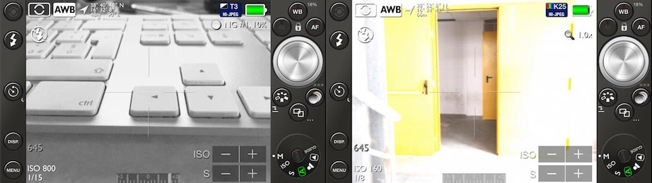 PRO 645 Mk III app che trasforma iPhone in una reflex