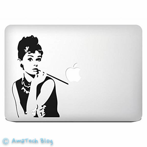 Pubblicità MacBook Air stickers Apple