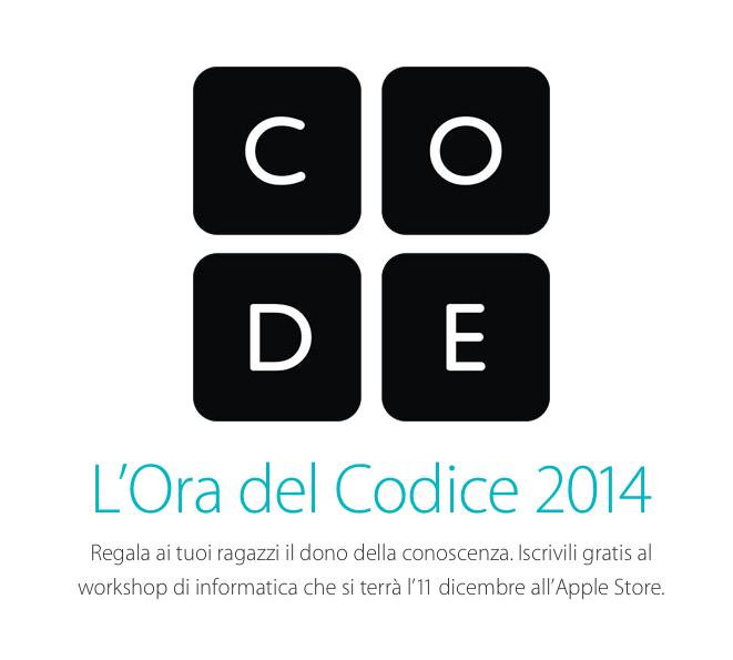 Workshop Apple sulla programmazione