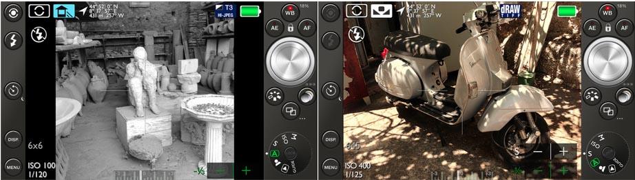 app che trasforma iPhone in una reflex