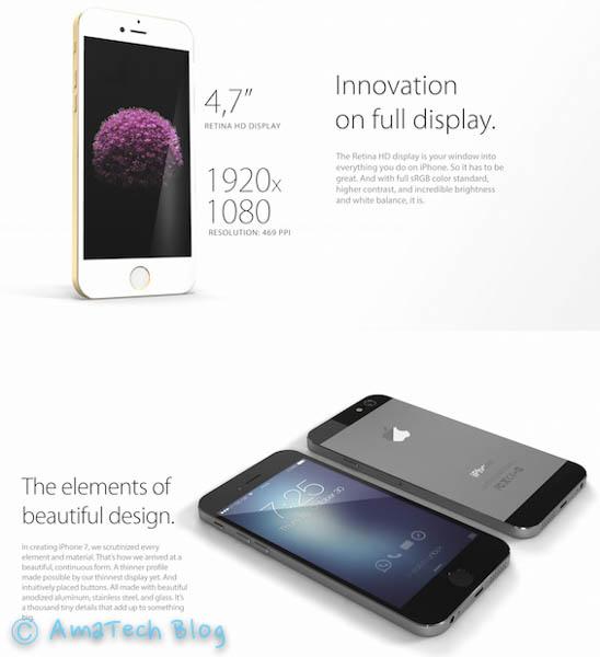 concept iPhone 7 di Xerix93