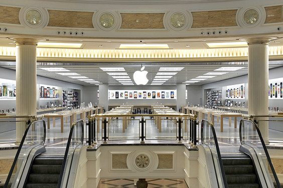 furto apple Store euroma 2
