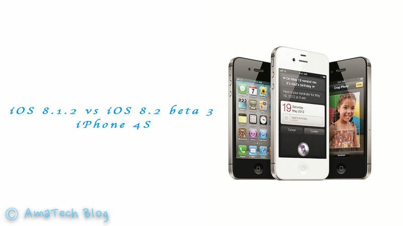 iOS 8.1.2 vs iOS 8.3 beta 3