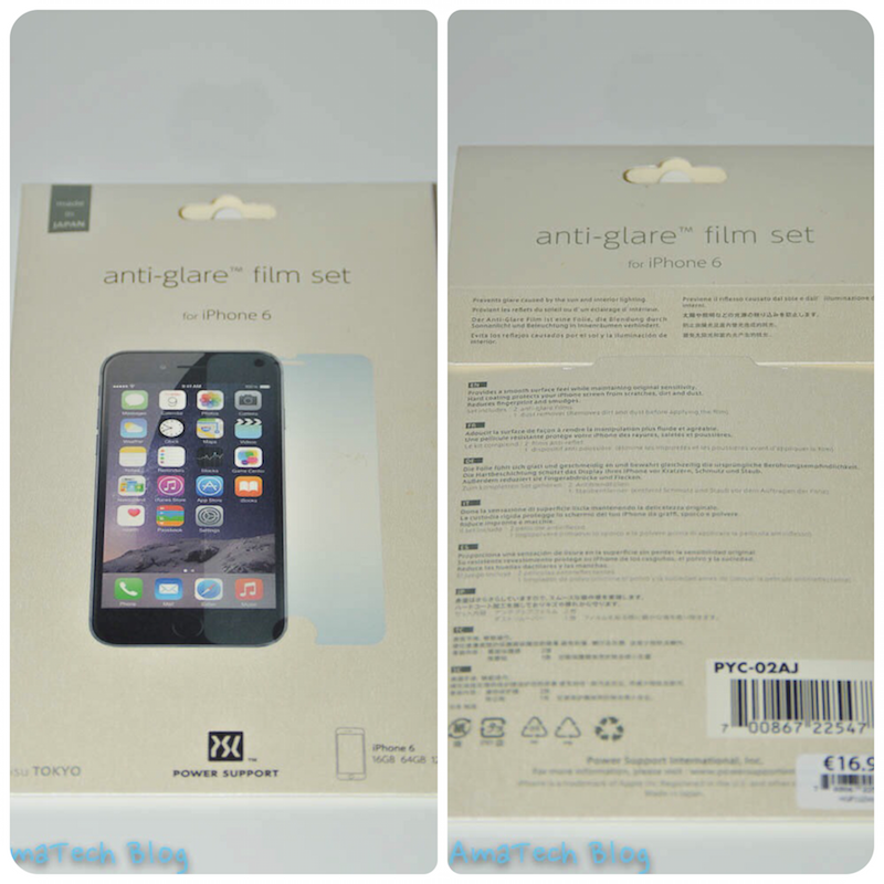pellicola antiriflesso Power Support iPhone 6