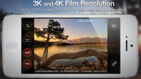 registrare video 4K con iPhone 6