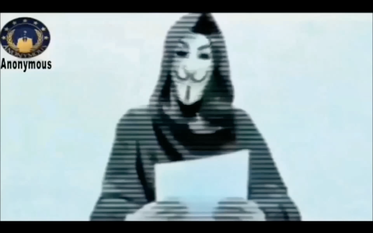 Anonymous vendicano la strage di Charlie Hebdo