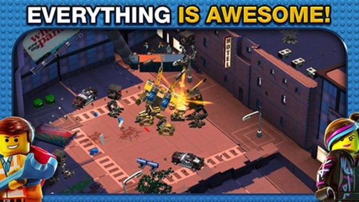 Lego Movie app