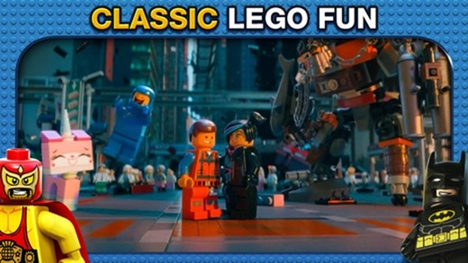Lego Movie app disponibile su App Store