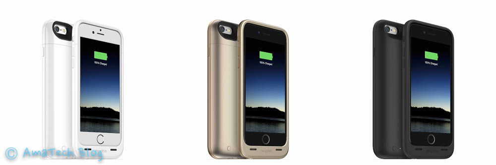 Nuovi battery cases Mophie per iPhone 6