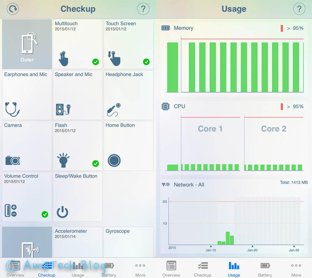 diagnostica hardware iPhone