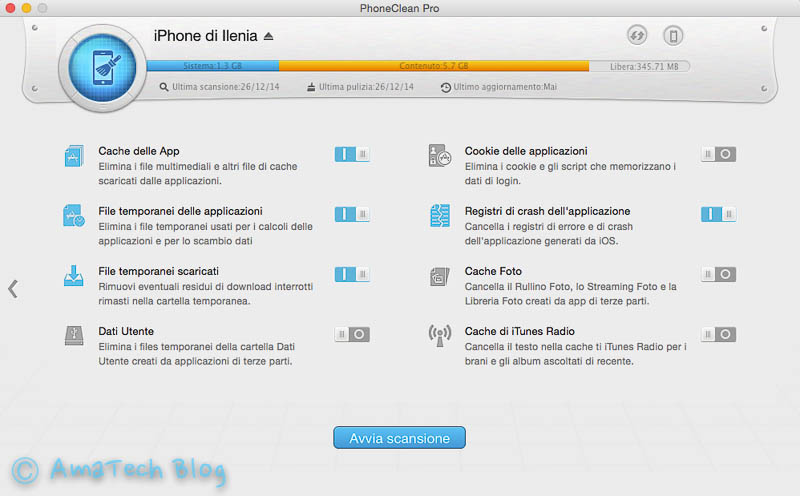 liberare spazio su iPhone