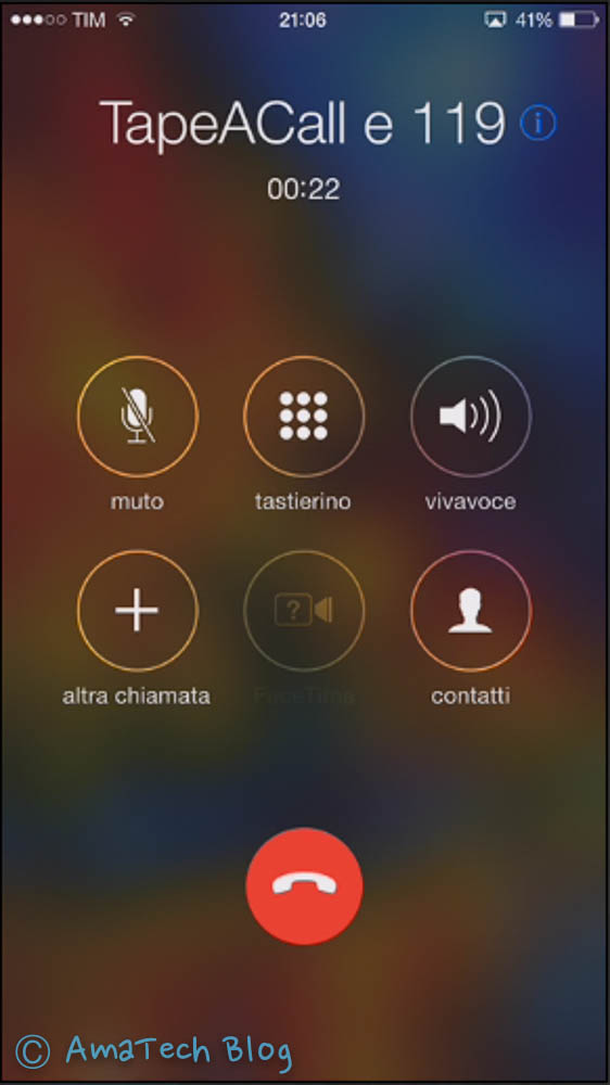 registrare telefonate iPhone