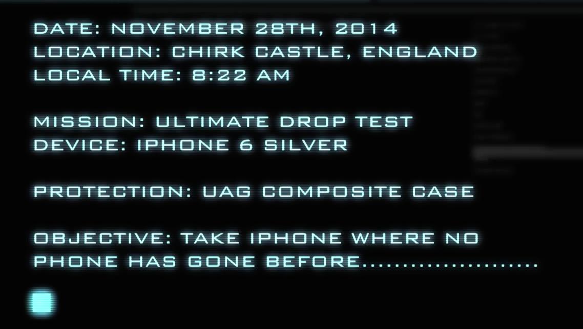 test iPhone 6 nello spazio