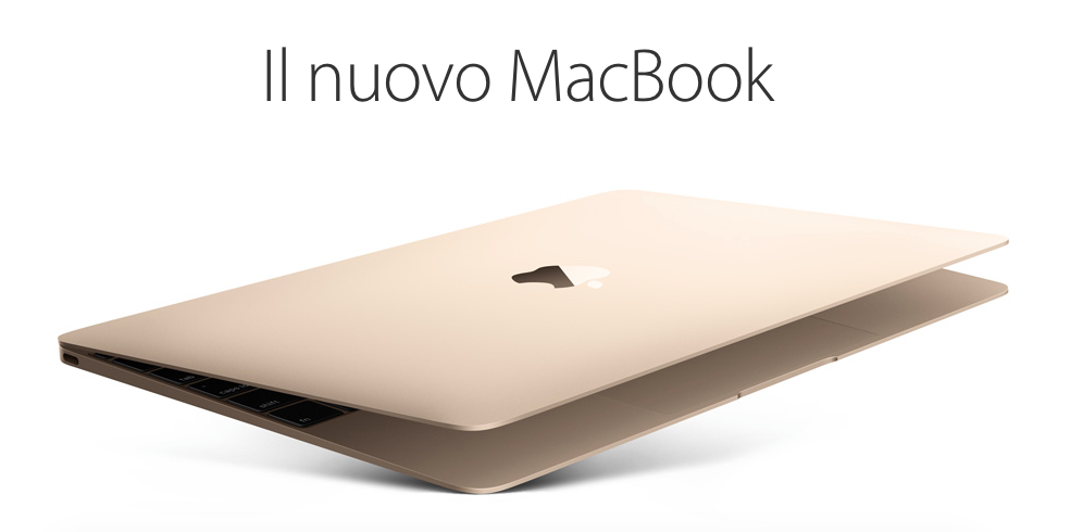 nuovo macbook 2015