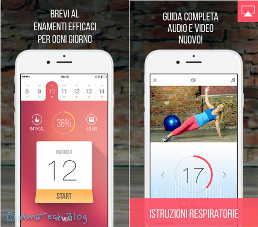 Fitness per dimagrire PRO app