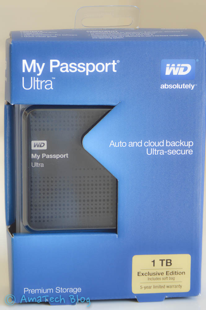 My Passport Ultra 1Tb