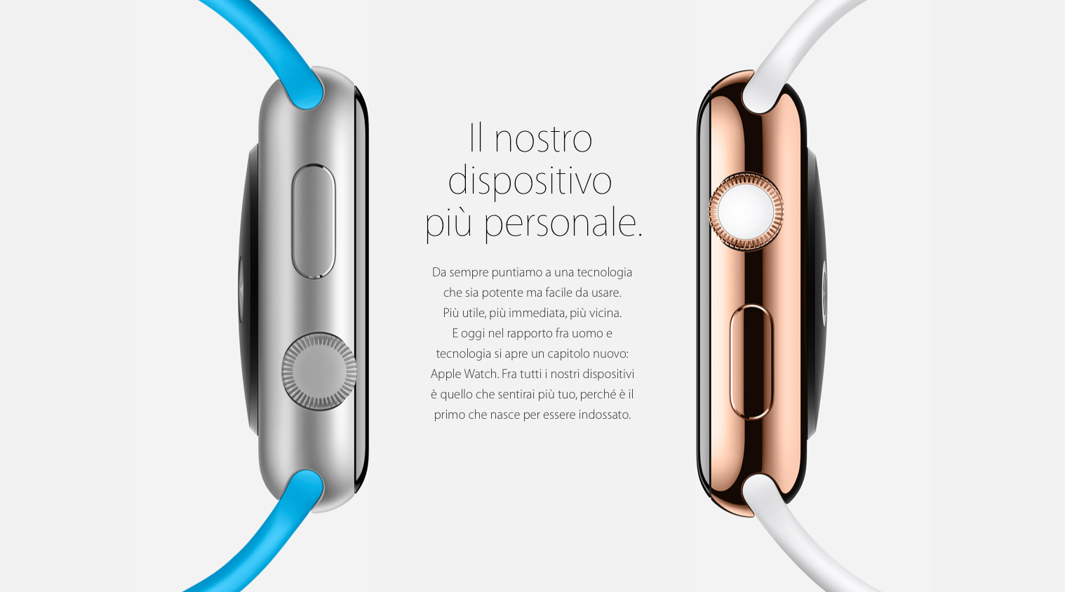 disponibilità apple watch in italia