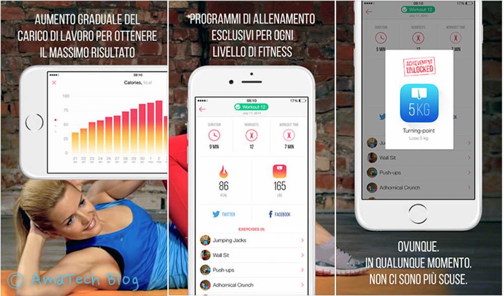 fitness per dimagrire PRO App Store