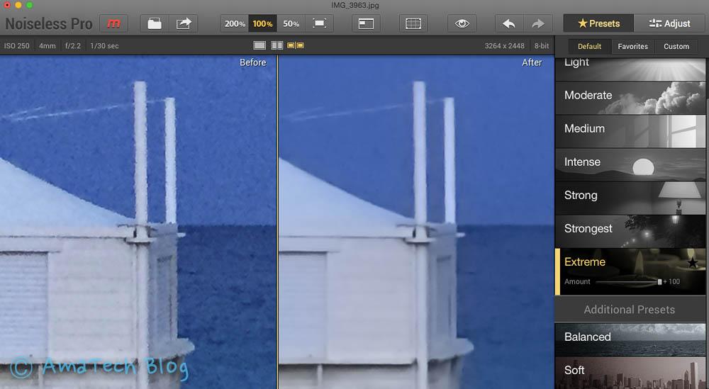 app che migliora qualità foto mac