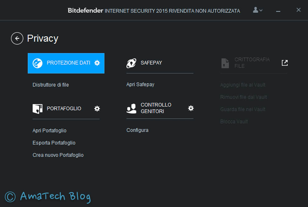recensione bitdefender Internet security 2015