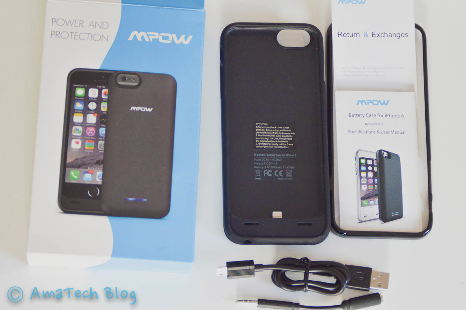 cover case batteria iPhone 6 Mpow