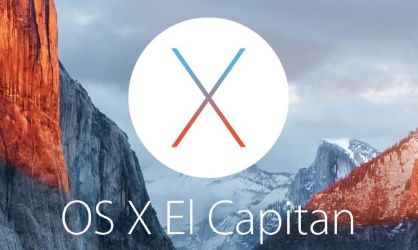 compatibilità OS X El Capitan