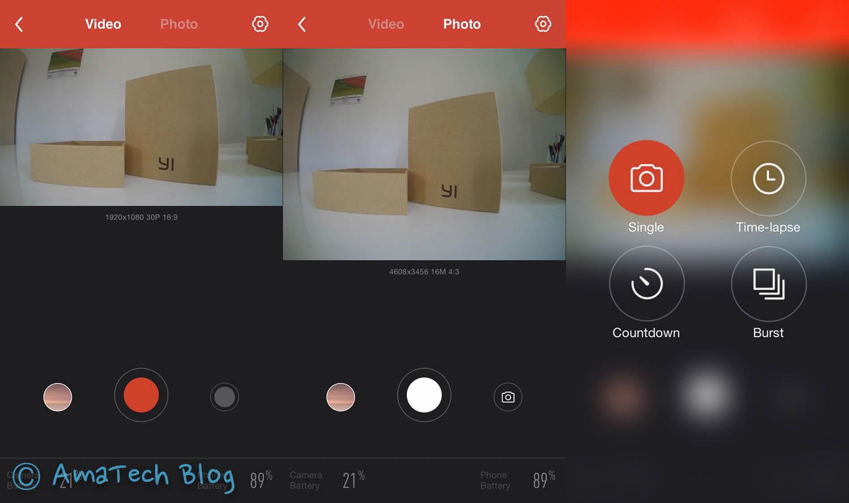 xiaomi yi camera app