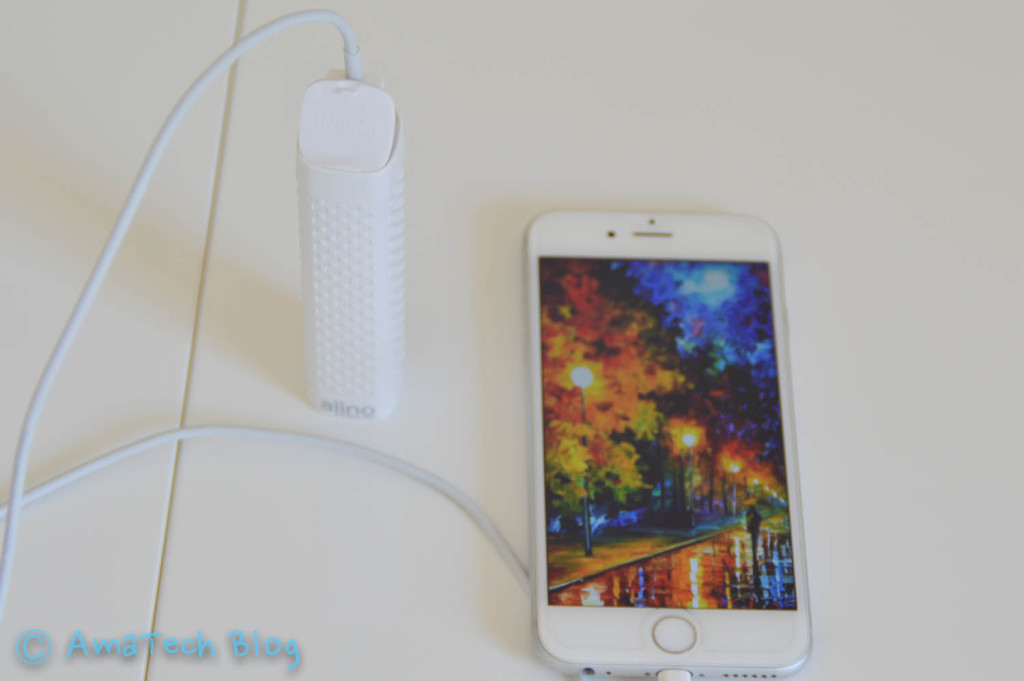 Aiino splash proof powerbank