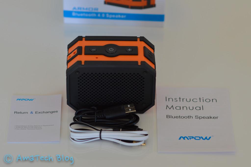 Speaker Bluetooth con powerbank