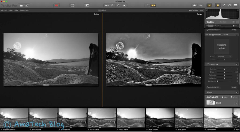 app per rendere foto in bianco e nero