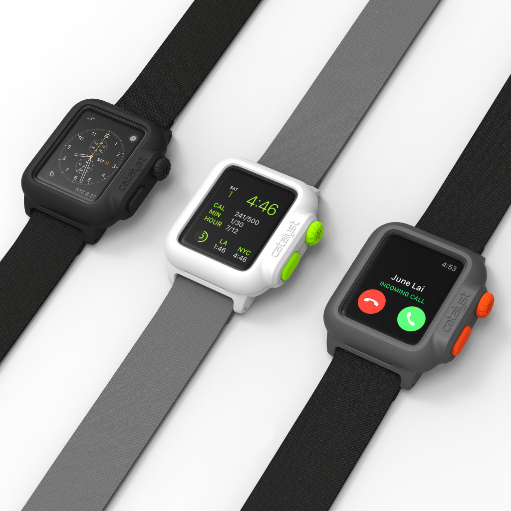 prima custodia impermeabile per apple watch