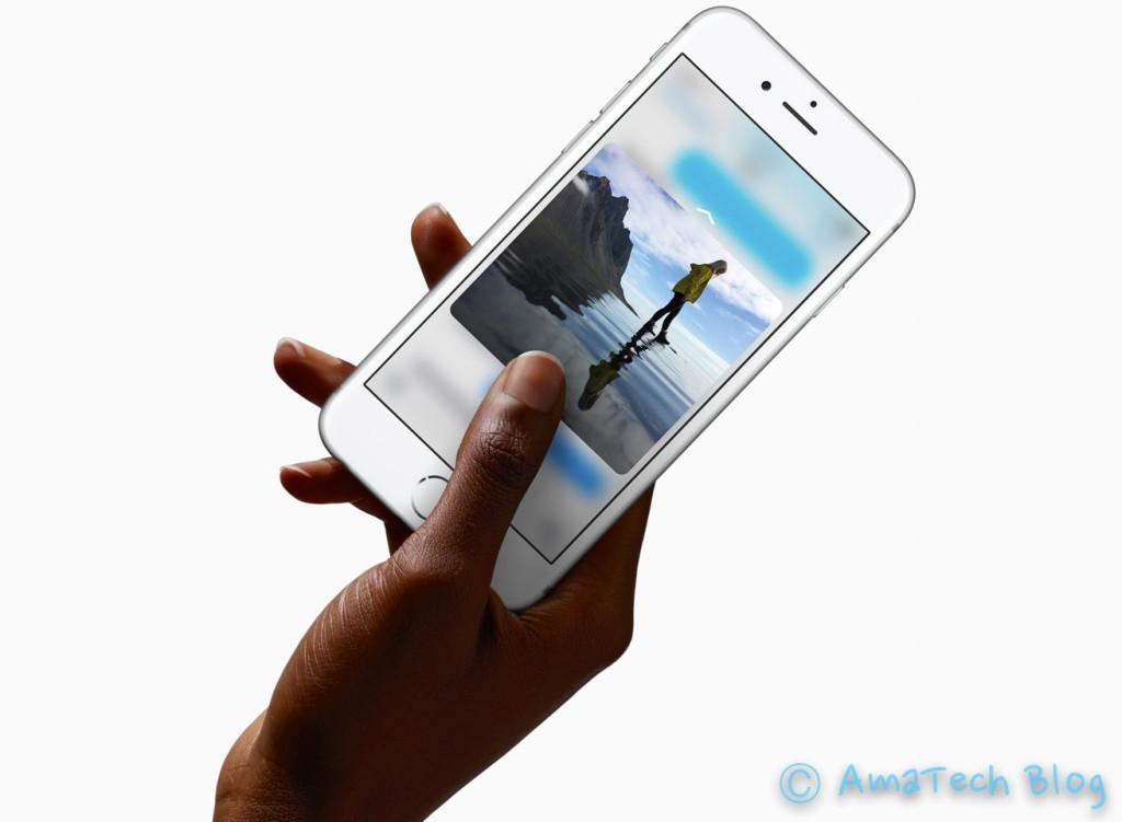 Cos'è 3D Touch Apple