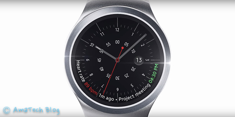 Nuovo Smartwatch Gear S2 Samsung