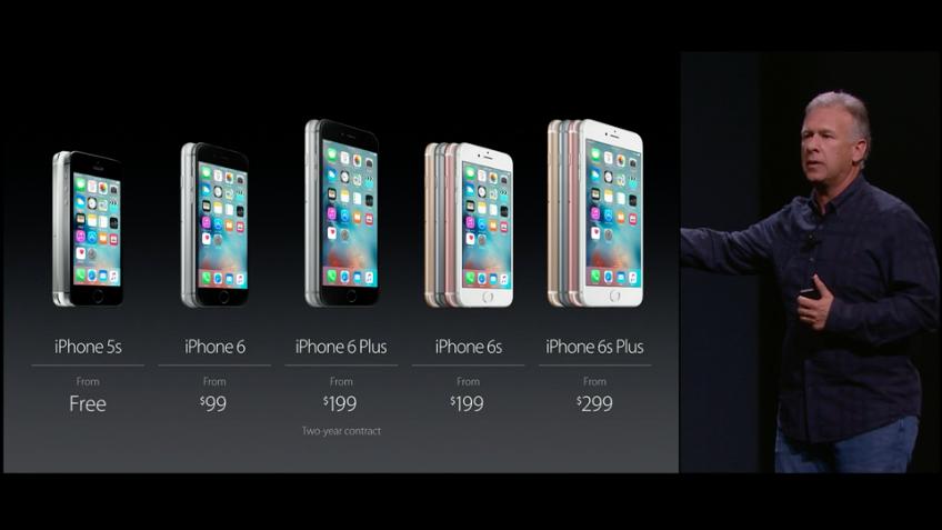 iPhone 6S prezzi
