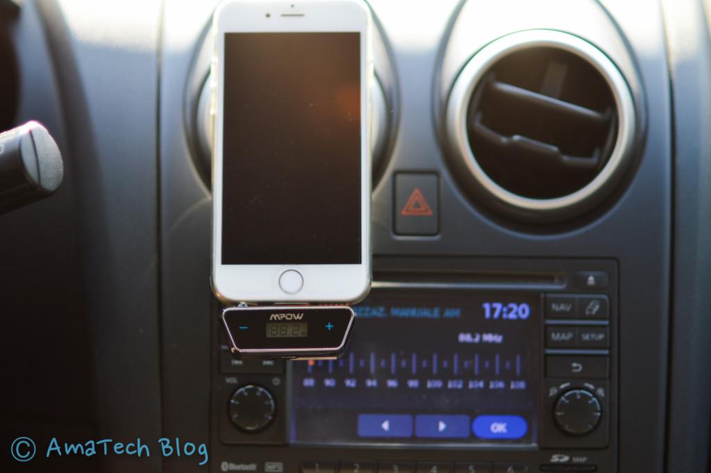 Trasmettitore FM iPhone Smartphone Mpow