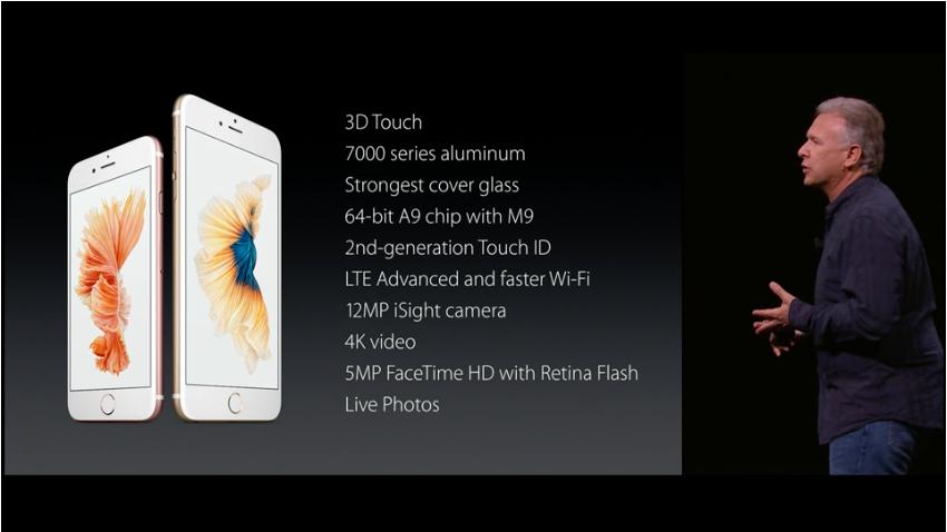 novità Apple Keynote 2015